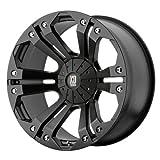 XD Series by KMC Wheels XD778 Monster Matte Black Wheel (18x9