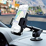 Amoner Car Mount, Cell Phone Holder for Car Dashboard Windshield Universal Cell Phone Cradle with Strong Sticky Suction Cup for iPhone X 8 7 6S 6 Samsung Galaxy S10 S9 S8 S7 S6 HTC LG Google GPS
