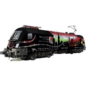 CLASS 182 ELECTRIC W/SOUND & DCC – RAABER RAILROAD GYSEV #91 43 0470 505-8 (ERA VI, FULL COLOR GRAPHICS) 51uZVMvMaFL