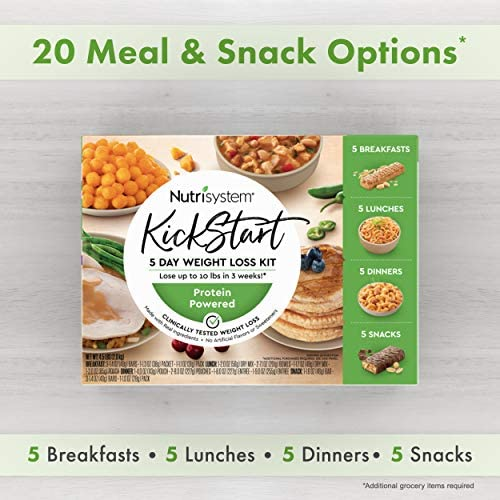 Nutrisystem® Kickstart Green Protein-Powered Kit - 5-Day Weight Loss Kit with Delicious Meals & Snacks 4