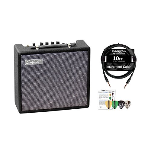 Sawtooth ST-AMP-10-KIT-1ST-AMP-10-KIT-1 10-Watt Electric Guitar Amp with Pro Series Cable and Pick Sampler