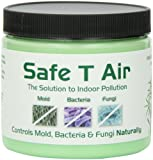 Safe T Air All-Natural Air Purifier with Australian Tea Tree Essential Oil | for Homes, Cars, Boats, RVs | 400 Gram Jar (14 Ounces)