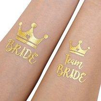 Konsait-Lot-de-20-Team-Bride-Tatouages-temporaires-evjf-tatouage-avec-Bride-tatouages-de-marie-pour-Enterrement-De-Vie-De-Jeune-Fille-Decorations-Accessoire