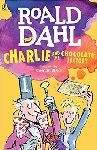 Charlie Chocolate Factory Book Cover