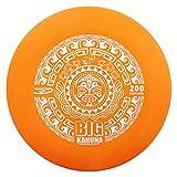 Innova Discs Big Kahuna 200g Heavyweight Ultimate Catch Disc [Hot Stamp Color May Vary] - Tiki Design - Orange