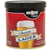 Mr. Beer American Lager Craft Beer Refill Kit, Contains Hopped Malt Extract Designed for Consistent, Simple and Efficient Homebrewing, 2 gallons