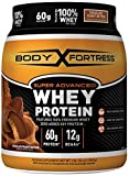 Body Fortress Super Advanced Whey Protein Powder, Gluten Free, Chocolate Peanut Butter, 2 lbs