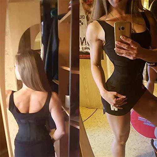 VENUZOR Waist Trainer Belt for Women - Waist Cincher Trimmer - Slimming Body Shaper Belt - Sport Girdle Belt (UP Graded) 10