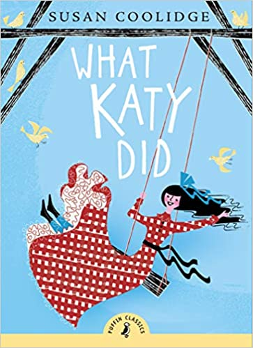 what katy did by susan coolidge. character on swing.