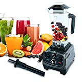 Homend 1400 Watt Commercial Blender, Professional Kitchen Juicer Blenders for Drinks and Smoothies with 67oz BPA-Free Pitcher,Commercial Heavy Duty Blender Food Processor Combo for Soups,Nuts & Batter