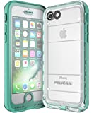 Pelican Marine Waterproof iPhone 7 Case (Teal/Clear)