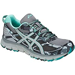 ASICS Women's GEL-Scram 3 Running Shoe - T6K7N.1193 (Alminum/Blk/Drct Blu - 7)