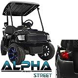 Madjax NEW!!! Club Car Precedent ALPHA Street Style Body Kit in Black