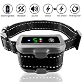 Pexio Professional Bark Collar IP67 Waterproof Rechargeable Dog No Barking Collar with Smart Detected Chip for Small Medium Large Dogs.