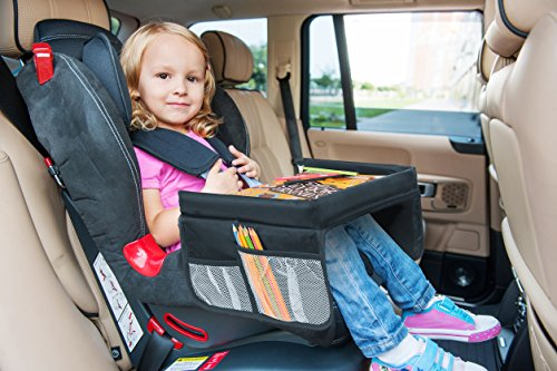 Lebogner Kids Car Seat Travel Tray – Play, Study, Eat And Snack ...