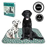 rocket & rex Washable, Puppy Pee Pads, Pet Training Waterproof Pads. 4-Pack (x-Large). Reusable, Leak-Proof and Absorbent. Whelping, Incontinence, Travel, Bed Wetting, Mattress Protector.