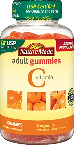 Nature Made Vitamin C Adult Gummies Tangerine