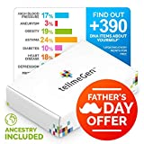 TellmeGen Health & Ancestry DNA Test Kit | The Most Complete DNA Testing for Home | Inherited Genetic Disorders + Complex Diseases - Ancestry - Personal Traits & More