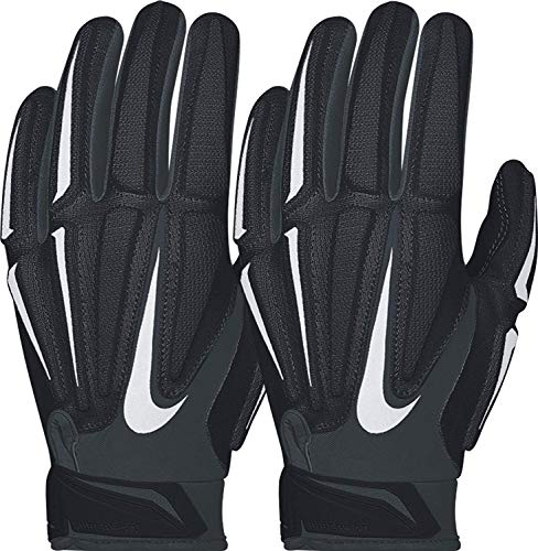 Nike Superbad 3.0 Padded Receivers Gloves Black/White Youth Medium