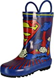 DC Comics Superman Rain Boot (Toddler/Little Kid),Blue/Red /Yellow,7 M US Toddler