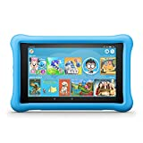 Fire HD 8 Kids Edition Tablet, 8' HD Display, 32 GB, Blue Kid-Proof Case