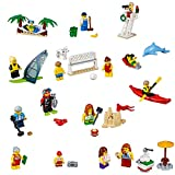 LEGO City Town People Pack – Fun at The Beach 60153 Building Kit (169 Piece)