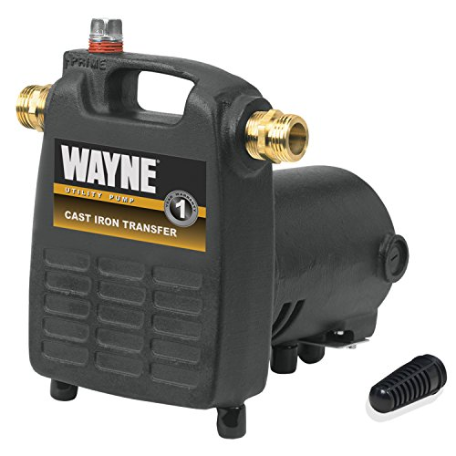 WAYNE PC4 1/2 HP Cast Iron Multi-Purpose Pump With Suction Strainer