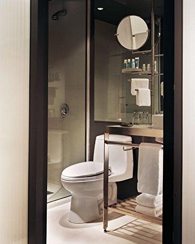 TOTO MS854114EL#01 Eco Ultramax ADA Elongated One Piece Toilet, Cotton White