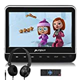 PUMPKIN 10.1 Inch Car Headrest DVD Player with Headphone, Support HDMI Input, 1080P Video, AV in Out, Region Free, USB SD, Last Memory