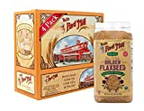 Bob's Red Mill Organic Raw Whole Golden Flaxseeds, 24-ounce (Pack of 4) (Package May Vary)