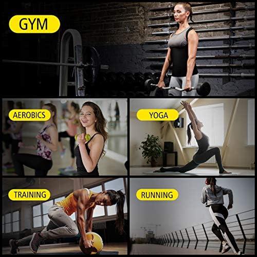 Cimkiz Women Sauna Sweat Vest Neoprene Sauna Suit Waist Trainer Corset for Women Body Shaper Sweat Tank Top Vest 6