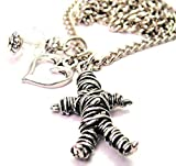 "ChubbyChicoCharms Voodoo Doll 18"" Fashion Necklace"