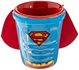 ICUP DC Superman Molded Caped Ceramic Shot, Clear