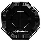 Franklin Sports 8 Player Folding Poker Table Top