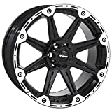 Dick Cepek Torque Flat Black Wheel with Machined Accents (16x8/6x5.5) 0 millimeters offset