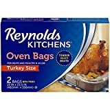 Reynolds Kitchens Turkey Size Oven Bags, 19 x 23.5 Inch, 2 Count