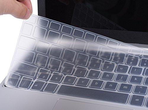 Ultra Thin Dell Keyboard Cover for 13.3' Dell XPS 13 9343 9350 9360 13.3 Inch Laptop(NOT Fit XPS 13 9365 9370), Clear