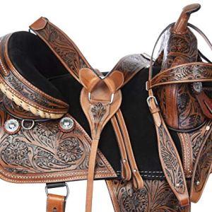 Acerugs 15 16 17 18 Endurance Western Pleasure Trail Horse Leather Saddle