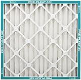 NaturalAire Pre-Pleat 40 Air Filter, MERV 8, 20 x 25 x 2-Inch, 12-Pack