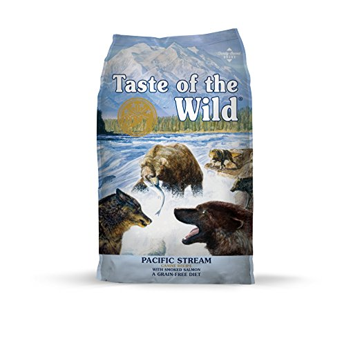 Taste of the Wild Pacific Stream Grain Free Protein Real Meat Recipe Natural Dry...