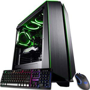 CUK Mantis Custom Gamer PC (AMD Ryzen 9, 128GB RAM, 1TB NVMe SSD + 4TB HDD, NVIDIA GeForce RTX 3080 10GB, 850W Gold PSU…