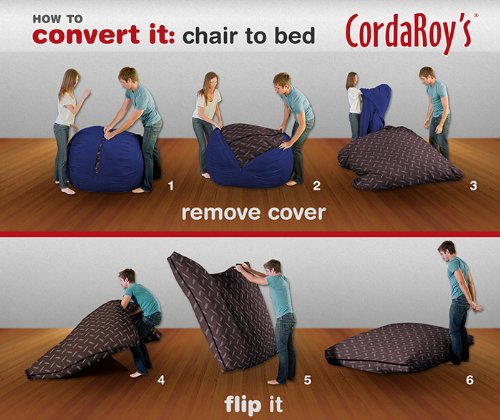 Cordaroy S Bean Bag Chair Corduroy, Bean Bag Queen Bed