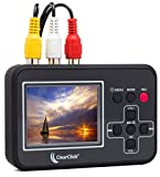 ClearClick Video to Digital Converter - Capture Video from VCR's, VHS Tapes, Hi8, Camcorder, DVD, Gaming Systems
