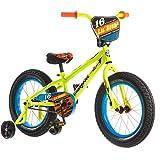 16' Mongoose Lil Bubba Boys' Fat Tire Bike, Neon Yellow