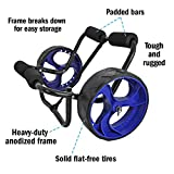 Seattle Sports Nemo Extremo Heavy Duty Center Cart Kayak Carrier - 250lb Load Capacity
