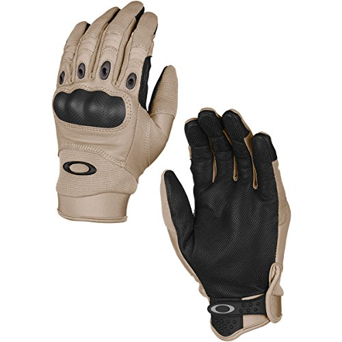 Oakley Mens Factory Pilot Glove, New Khaki, Large