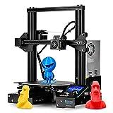 SainSmart x Creality Ender-3 3D Printer, Resume Printing V-Slot Prusa i3, Build Volume 8.7' x 8.7' x 9.8', for Home & School Use