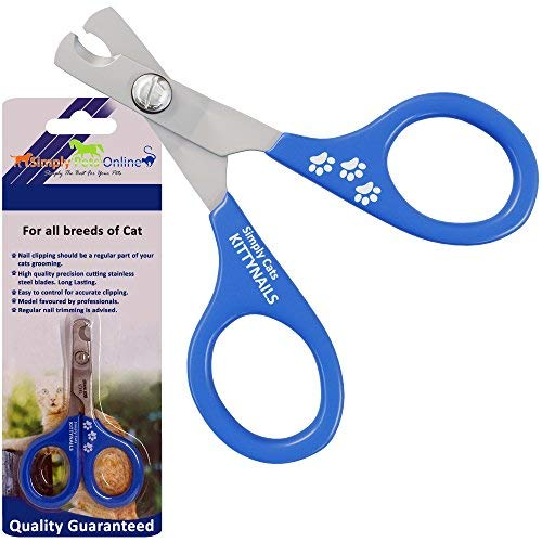 Simply Pets Online Cat Nail Clippers and Pet Nail Cutter for Rabbit, Guinea Pig and Ferrets