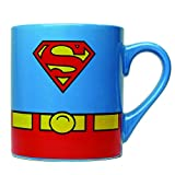 Silver Buffalo SP0132 DC Comics Superman Uniform Ceramic Mug ,14 Ounces