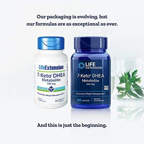 Life Extension 7-Keto dhea Metabolite, 60 Vegetarian Capsules 4